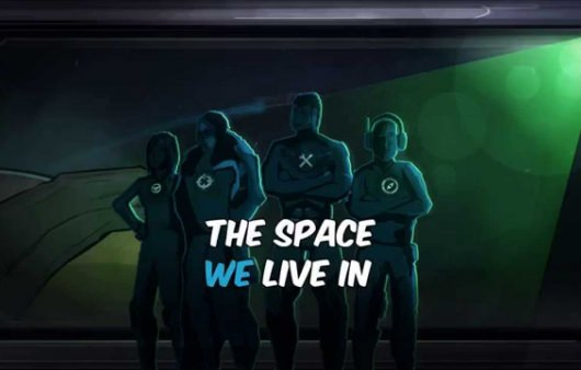 THE SPACE WE LIVE IN